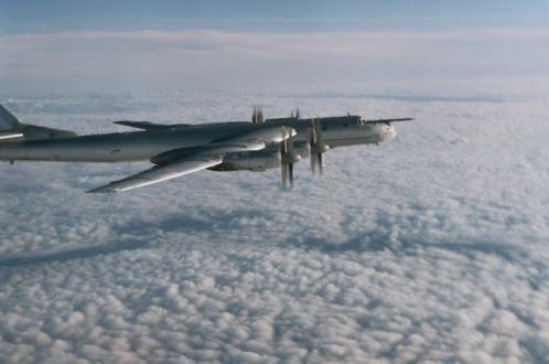 У берегов США перехватили российские бомбардировщики